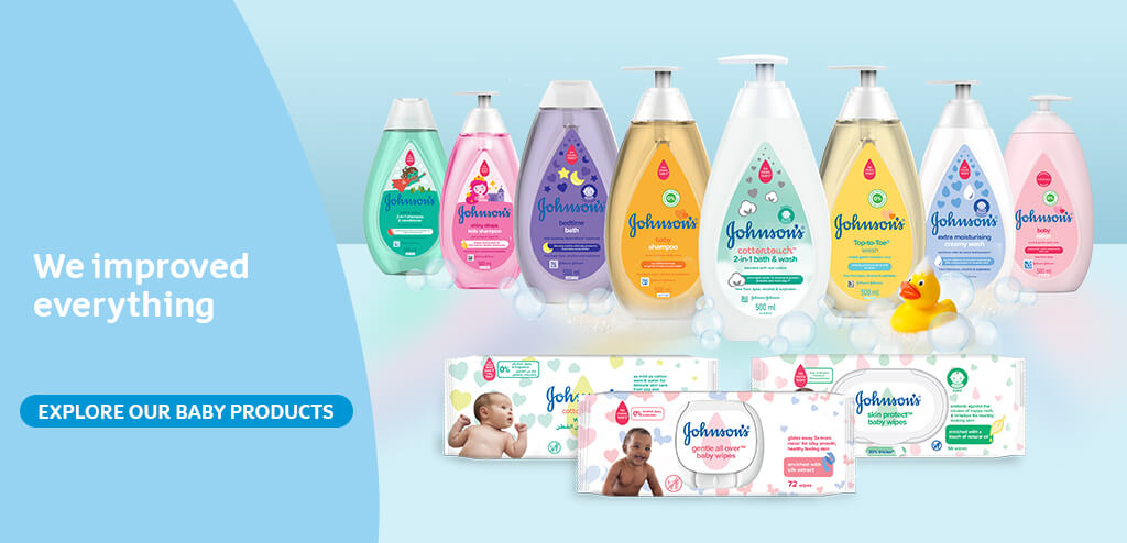 The NEW JOHNSON´S®: Improved Baby Products Inside and Out